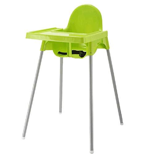 ZCFXGHH Kinderstoel, kinderopklapbare eettafel, multifunctioneel, draagbaar, massief houten eettafel