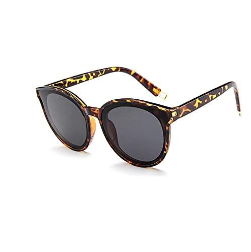 FDNFG Color Plano Top Gato Ojo Gafas de Sol Damas Hombres clásico Espejo UV400 Gafas de Sol para Hombre Caja Estilo Color Cambio de Gafas de Sol Antiguas Gafas de Sol (Lenses Color : C7)