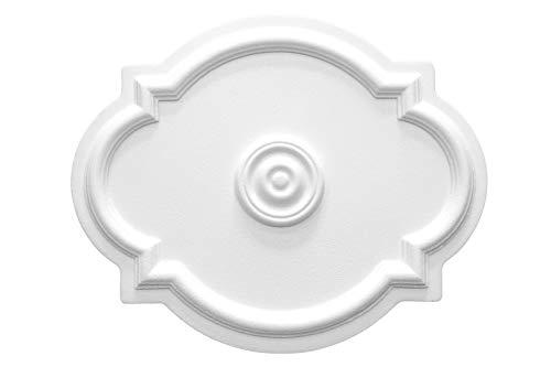 1 Deckenrosette | Innendekor | Stuck | EPS | Dekor | 515x420mm | R-10