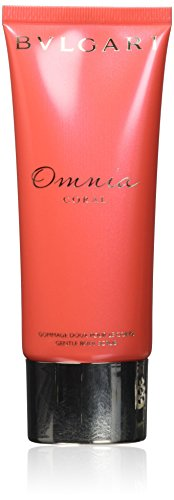 Bvlgari Omnia Coral Femme/Women, Gentle Body Scrub, 1er Pack (1 x 100 g)