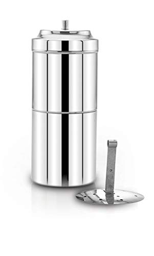 Expresso Stainless Steel South Indian Filter Coffee/Kaapi Drip Maker 250 ml