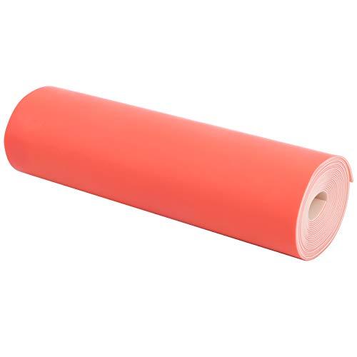 SALUTUYA Banda de Caza de catapulta roja-Blanca de 0.65 mm 2M Cómoda, para Yoga en casa, Correa de Repuesto