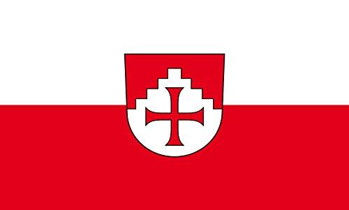 Unbekannt magFlags Tisch-Fahne/Tisch-Flagge: Horgenzell 15x25cm inkl. Tisch-Ständer