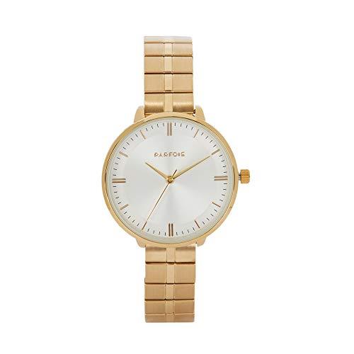 Parfois - Reloj Casual Silver Tray - Mujeres - Tallas Única - Dorado