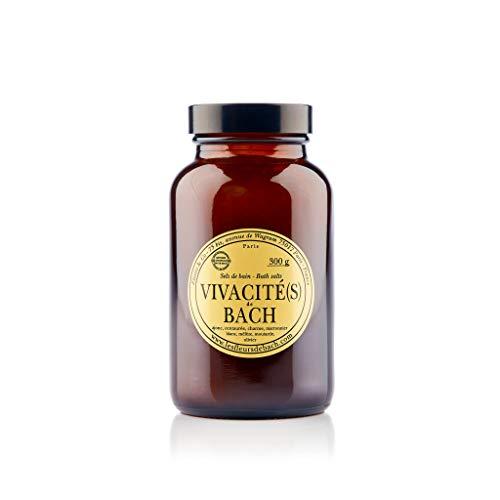Elixirs & Co - Sels de Bain aux Fleurs de Bach - Bio - Vivacité(s) - Dynamisant - Retrouvez Energie et Vitalité - Bien-être - Energies Positive - Soins du Corps Naturels - 300g