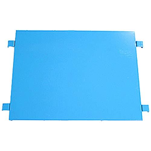 カゴ台車 カゴ車 オプション 棚板 中間棚板 W80×D60×H170(cm)台車用(1枚) (ブルー)
