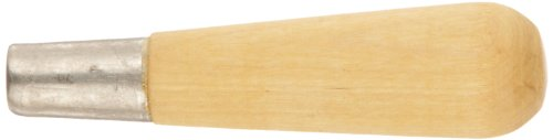 Crescent Nicholson 3-3/4' Metal Ferruled Wooden Handle Number 4 - 21511N