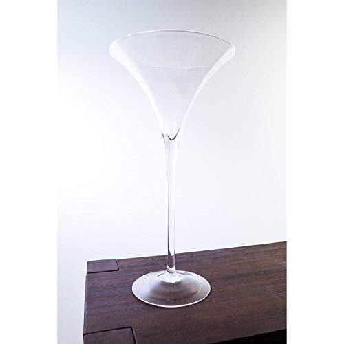 INNA-Glas Verre à Cocktail XXL Sacha, Transparent, 50cm, Ø 25cm - Verre à Martini - Verre géant