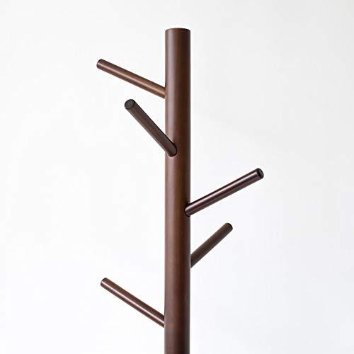 YLCJ Nordic kleerhanger Massief hout vloerkapstok Eenvoudige moderne kapstok Vloerlamp Een verticale paal (kleur: A)
