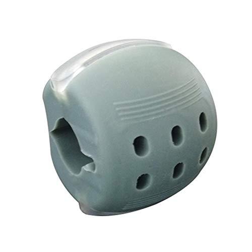 Jaw Trainer und Neck Toning Equipment, Jaw Neck Face Exerciser Tragbarer Jawline Exerciser Face Toning Ball Zur Definition Ihrer Jawline Und Zur Unterstützung von Stress