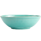 Cambria Oval Serve Bowl - Turquoise | Pottery Barn