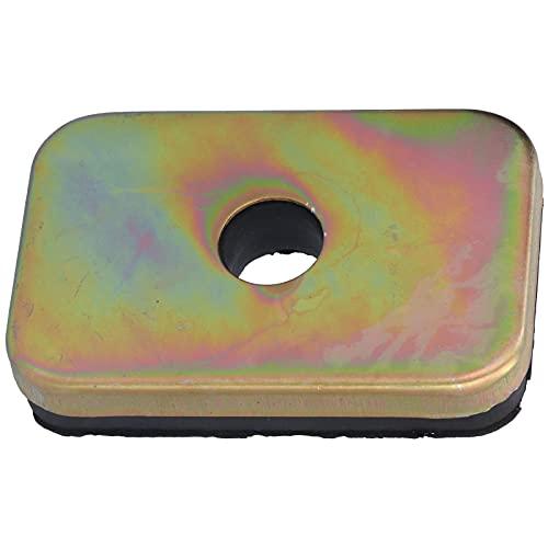 Gedourain Gummipuffer, Vibrationskissen Hohe Abriebfestigkeit mit hochwertigen Materialien für Wasserpumpen