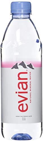 evian Mineralwasser , 24x500 ml