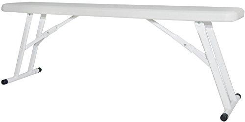 New Storm Halff 120 Kompact Bench (Pack de 2) Blanc cassé