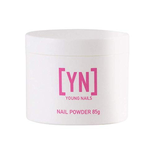 YOUNG NAILS Acrylic Core Powder, Clear, 85 Gram