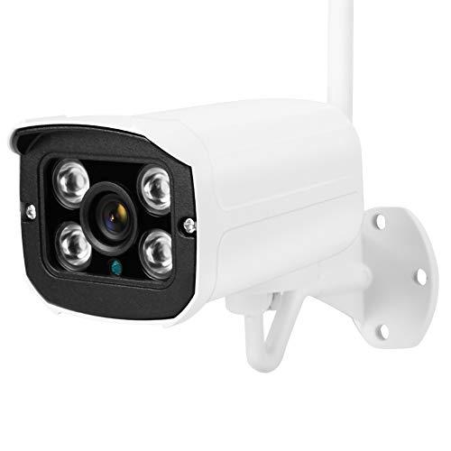 Zhat Cámara WiFi, Control Remoto de visión Nocturna por Infrarrojos, cámara de vigilancia HD 720P, detección de Movimiento, Tienda al(European regulations)