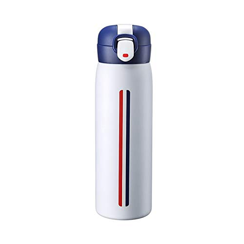 ZMYY Travel Mugs 520ml Insulated Coffee Mug Stainless Steel Vacuum Flask Fashion and Beautiful for Work School Travel Driving