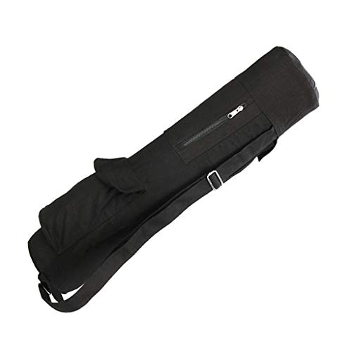 Hellery Bolsa para Esterilla de Yoga Portador de Yoga con Bolsillos de Almacenamiento Versátiles para Yoga, Pilates,