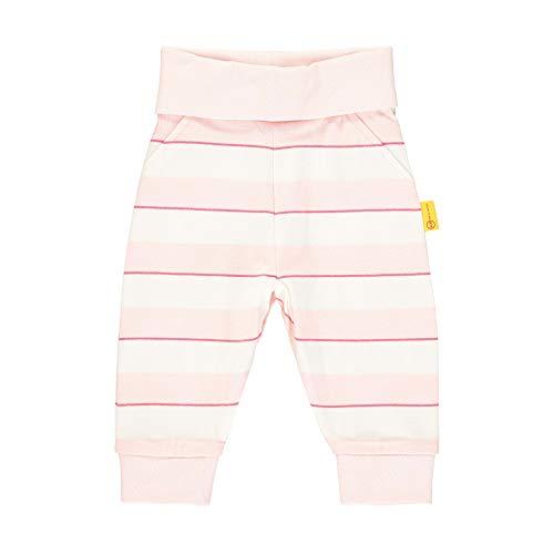 Steiff baby-meisjes joggingbroek mit Streifen und Teddybärmotiv