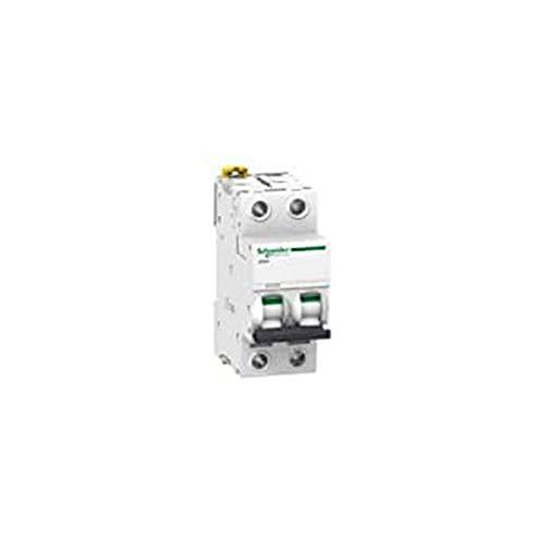 Schneider Electric A9F85240 Interruptor Automático Magnetotérmico Ic60H, 2P, 40A, Curva D