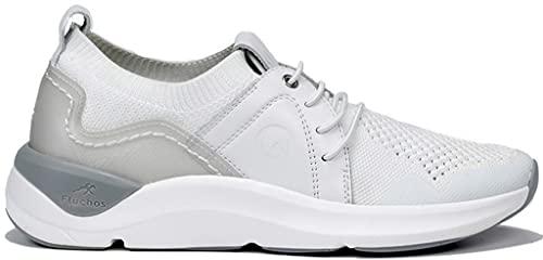 Fluchos | Zapato de Mujer | Atom F0876 Atom Blanco Deportivo | Zapato de Textil | Cierre con Cordones | Piso EVA