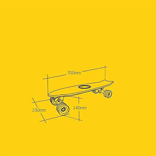 Elektro Skateboard Mini Caster Bild 4*