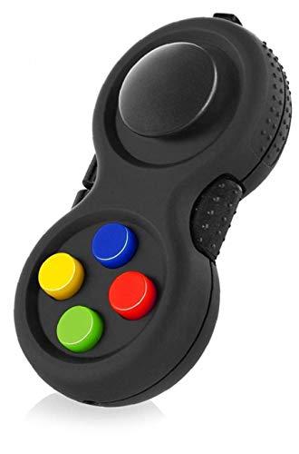 Zonfer Fidget Fokus Spielzeug Für Stress Abzubauen Classic Controller Game Pad 8-Fidget Funktionen Und Lanyard