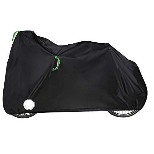 AWNIC Funda Bicicleta Impermeable Funda para 1 Bicicleta Resistente al Desgarro 210D Oxford Cubierta Apto para montaña/Carretera/Bicicleta, 200x70x110cm