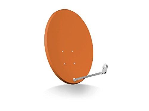 SAT-Antenne OPTICUM X80, Stahl, Ziegelrot, 80 cm