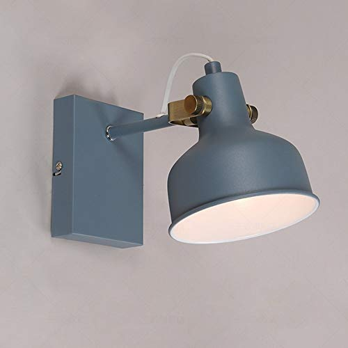 Magosca Modern Macaron Unique Decorative Lighting E27 Wall Light Creative Children's Room Simple Reading Wall Lamp Best For Gift Bookshelf Living Room Coffee Shop House Wall Sconce
