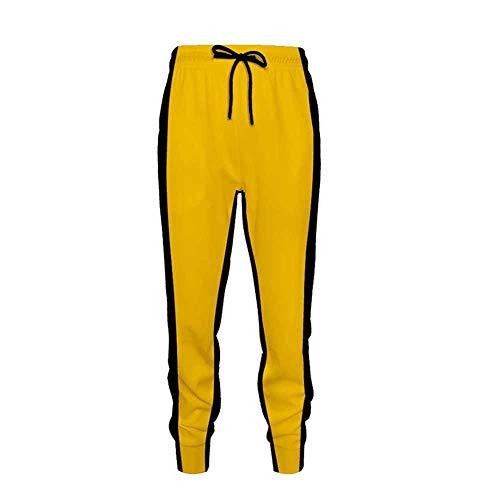 Unisex Bruce Lee Death Tower Langarm T-Shirts Bruce Lee Klassische Cosplay Kleidung