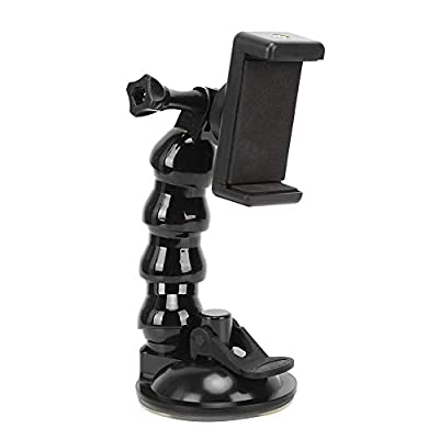 EFFACER Cup Bracket, Suction Cup Bracket, Reliable for 55-85mm Width Phone or Tablet by EFFACER