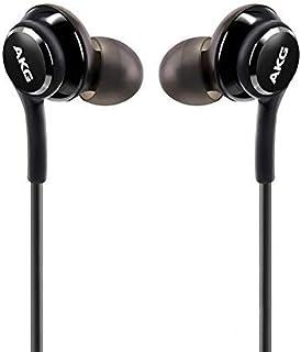 UrbanX OEM 2019 - Auriculares estéreo para Samsung Galaxy S10 S10e Plus, Cable Trenzado, diseño de AKG, con micrófono y Botones de Volumen, Color Negro