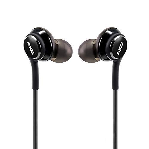 OEM UrbanX 2019 - Cuffie stereo per Samsung Galaxy S10 S10e Plus, con cavo intrecciato Cruz V2 Fresh Foam (Nero)