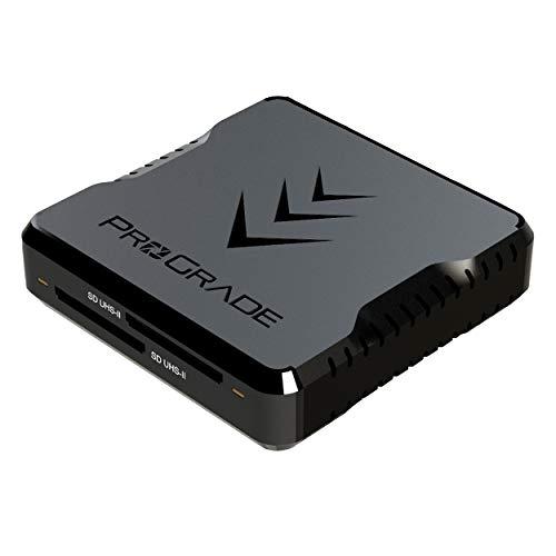 ProGrade Digital 【SD/SD】 USB3.2Gen2 ダブルスロットカードリーダー (PG08)