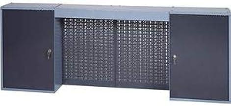Küpper Armario de herramientas B.1600xD.190xH.600mm m.2 puertas 4 agujeros hacia atrás incl. 4 estantes