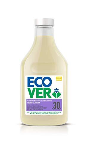 Ecover Lessive Liquide Couleur Parfum Fleurs De Pommier Et Jasmin   Origine Naturelle Pour Un Linge Propre   Doux Pour La Peau   1,5L - 30 Lavages