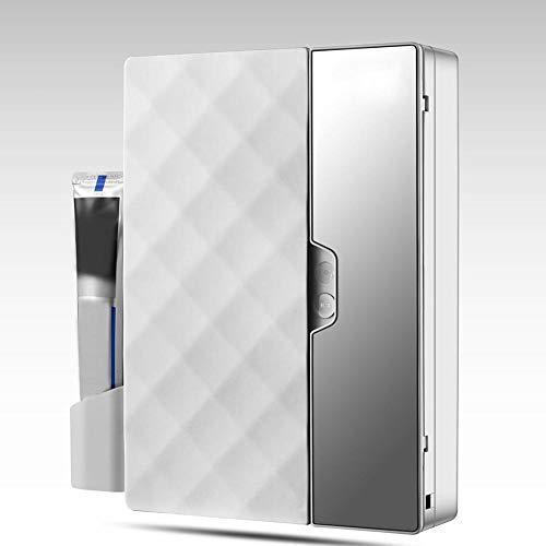 IJNUHB Smart Sterilisatie UV Sanitizer Tandenborstel Houder Dubbele Sterilisatie Buis Elektrische Desinfectie Kabinet voor Badkamer Opslag Gezondheidszorg