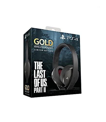 PlayStation Casque-micro sans fil PS4 Édition Spéciale The Last of Us part II Limitée, Audio 3D, Édition Gold