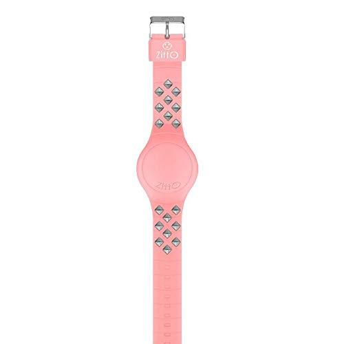 Orologio digitale ZITTO REBEL in silicone rosa URBANPINK-LB-MAX
