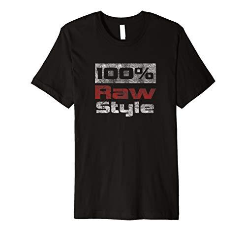 100% Rawstyle T-Shirt Hardstyle Merchandise