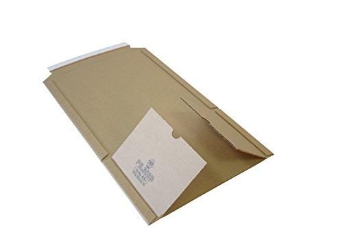 Universal Wickelverpackungen aus Mikro-Wellpappe Karton DIN A3 Nutzmaß: 455 x 320 x 20-55mm (PS.309) (10)