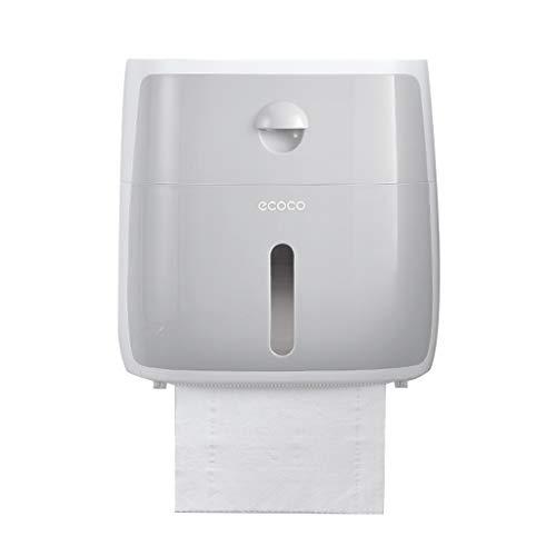 ZAJ Papierhandtuchhalter Papierhandtuchhalter, Gewerbe Toilettenpapierhalter, Wand-Papierhandtuchhalter for Bad, Küche Tissue-Box Toilettenpapierhalter