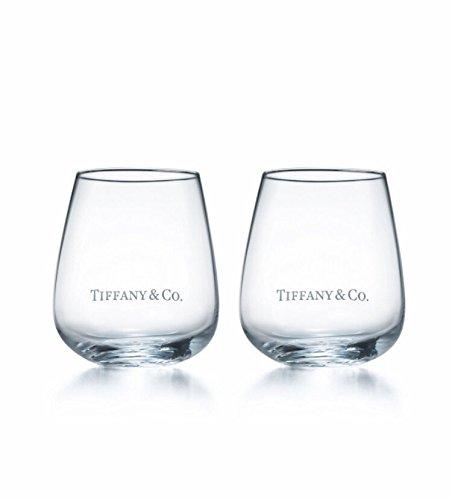 TIFFANY(ティファニー) TCO ロゴグラス ペア 2点セット
