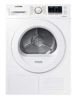 Samsung DV8FM50101KW Wärmepumpen-Kondensationstrockner, weiß, DV5000
