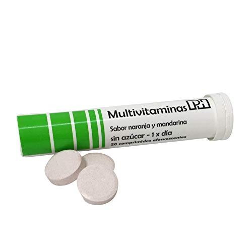 MULTIVITAMINAS PH con 20 comprimidos efervescentes, 10 vitaminas que te aportaran energía y vitalidad.