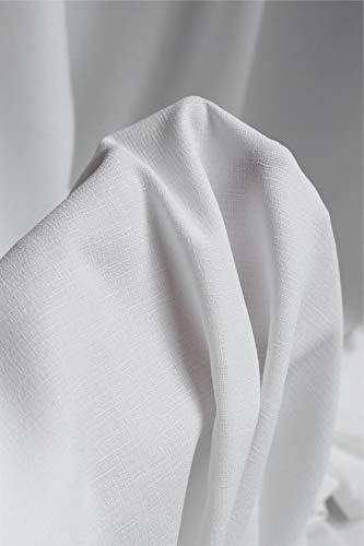 JKLAQ Telas por Metros para Vestidos- Vestido De Gasa De Bambú Liso Y Grueso Tejido De Diseño Transpirable, Cáñamo De Imitación (0,5 M)