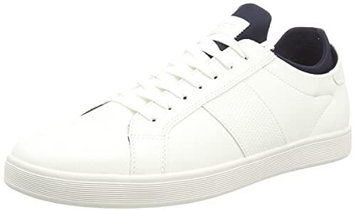 Aldo Men's Prayrien Loafer Flat, White, 9 UK
