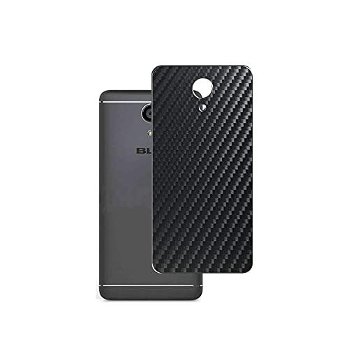VacFun 2 Piezas Protector de pantalla Posterior, compatible con BLU Life One X2 2016, Película de Trasera de Fibra de carbono negra Skin Piel