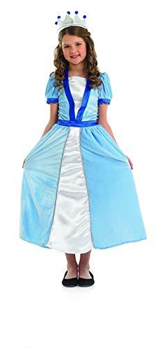 Fun Shack Azul Vestido De Princesa Disfraz para Niñas - M